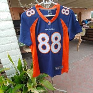 DENVER BRONCOS NFL ON FIELD JERSEY DEMARYIUS M
